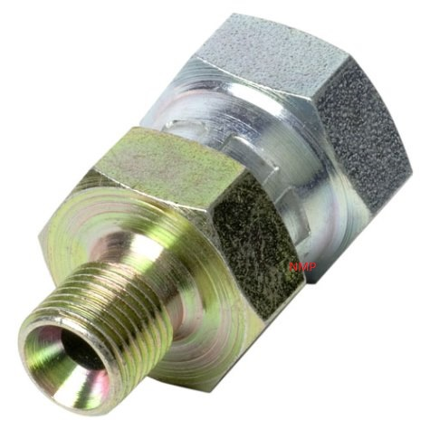 1/8 BSP MALE TO 1/4 BSP FEMALE (swivel) ADAPTOR PCP Pre charged fittings