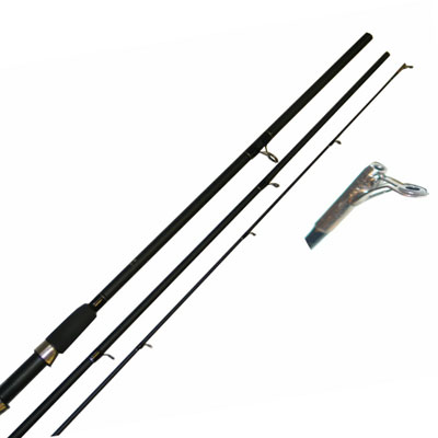 10FT, 3PC Float / Match Fishing Rod (1003) (Fibre Glass) (extra £10.00 of price when collected from store)