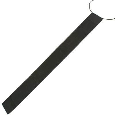 SPARE BLK 125CM OXFORD CLOTH ROD SLEEVES FOR POLES/WHIPS