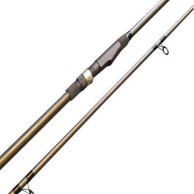 12FT, 2PC, 'CARBON COLOUR' 2.75TC CARP ROD (CPH-1202K) (Fibre Glass) (extra £10.00 of price when collected from store)