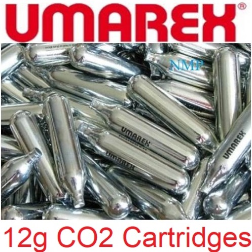 Umarex 12 gram 12g Co2 Cartridges for Air Guns a pack of 100