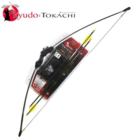 15lb Black Tokachi Recurve Bow On Blister (RB008)