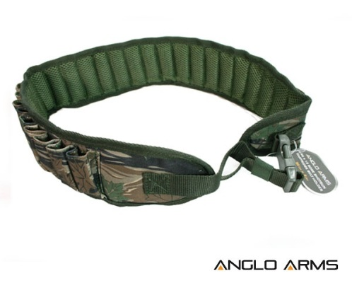 Shotgun Cartridge Belt Holder in Camouflage Holds 26 x 12 bore (013 C)