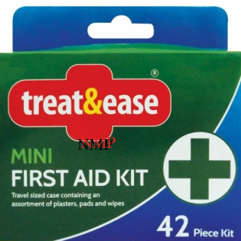 MINI FIRST AID KIT 42pc (treat&ease)