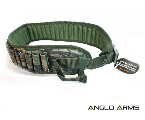 Shotgun Cartridge Belt Holder in Camouflage Holds 36 x 20 bore (299 C)