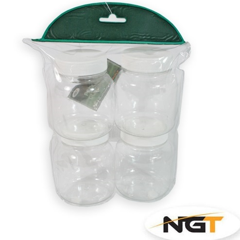 Pack of 4 Spare Glug Pots