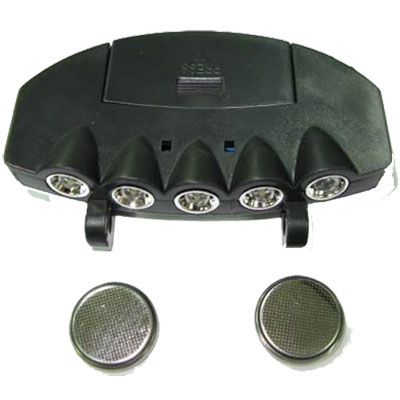 Hands Free Cap Light with 5 LED'S