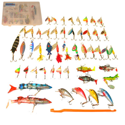 Fishing Lures & Spinners & Spoons