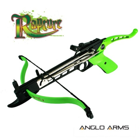 80lb Aluminium 'RAPTURE' Zombie Self Cocking Pistol Crossbow