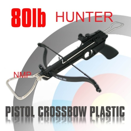 80lb HUNTER PISTOL CROSSBOW MK-80A1 (Plastic)