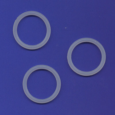 EXTERNAL CLEAR END OF THREAD SEALS FOR 3.1oz 88g Co2 CAPSULE BRASS or SILVER CROSMAN PAINTBALL ADAPTOR