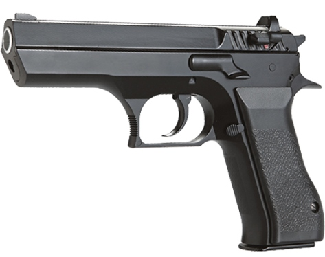 KWC Jericho 941 fixed slide Black (Baby Eagle) 12g CO2 powered 6mm BB AIRSOFT Pistol