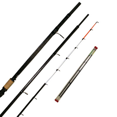 13FT ALASKA CARBON  'ULTIMATE' METHOD FEEDER ROD WITH 2 TIPS (F108) (CARBON) (extra £10.00 of price when collected from store)
