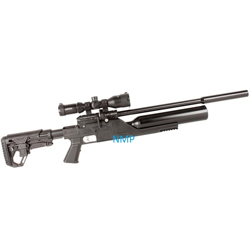 Kral Puncher NP-500 .177 Calibre PCP Air Rifle and silencer 14 shot and free hard case