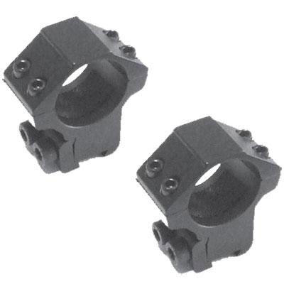 "AGS Sapphire Scope Mounts Sports Match Style Double Screw 3/8"" Dovetail One Inch - MEDIUM (Z7412)"