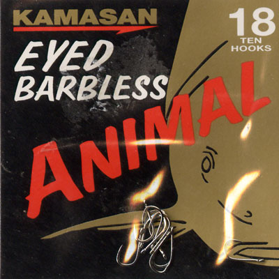 Kamasan Animal Eyed Barbless Hook Size 18