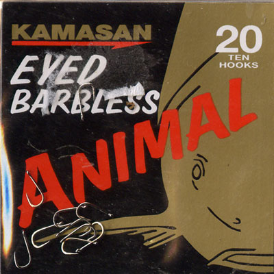 Kamasan Animal Eyed Barbless Hook Size 20