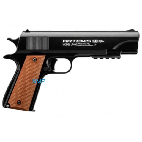 ARTEMIS LP400 .177 Calibre Pellet (4.5mm) PNEUMATIC AIR PISTOL
