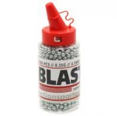 ASG Blaster 35g Air Gun Steel BB .177 (4.4mm) 1500 Plastic Bottle