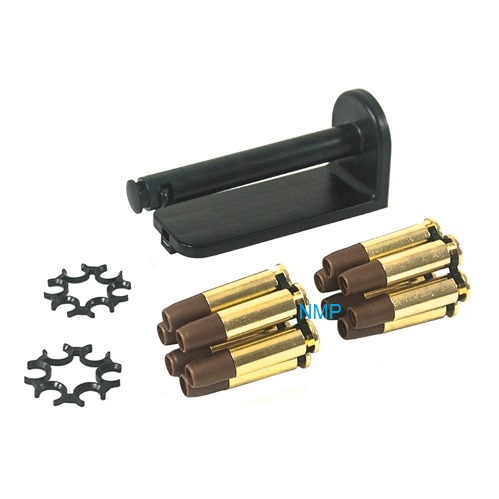 ASG - Moon clip Set, Includes 12 x 4.5mm Shells & 4 Moon Clips & Belt clip holder (Fits 16k 715 Onwards Only)