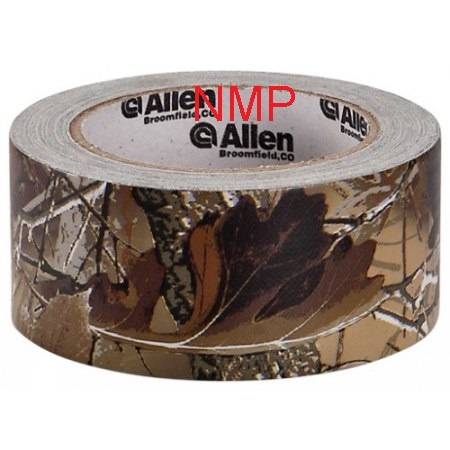 "Allen Camo Duct Tape - 20 Yards x 2"" Roll - Realtree AP Max 4 Camo Duct Tape (AC40)"