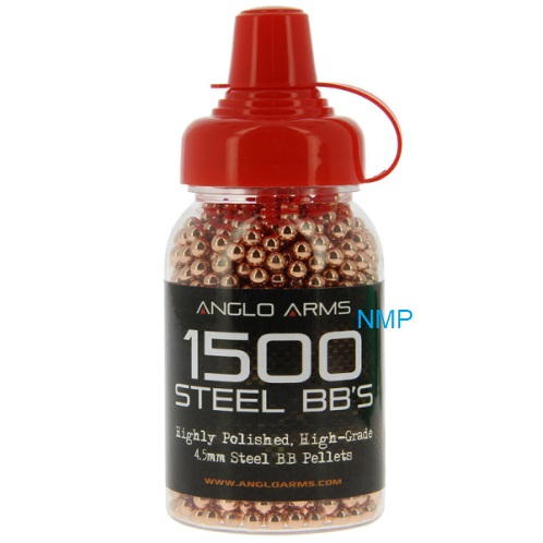 Anglo Arms Copper Color Air Gun Steel BB .177 (4.5mm) 1500 pcs