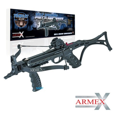 Armex 80lb Tomcat II Self Cocking Pistol Crossbow