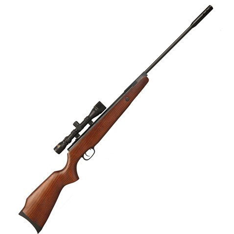 Beeman Wood DUAL calibre 177 & 22 one spring air rifle with 4 x 32 scope
