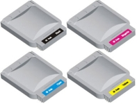 Brother BLC25 / LC700BK ,LC700C, LC700M,LC700Y, Compatible Printer Ink Cartridge 1 FULL SET