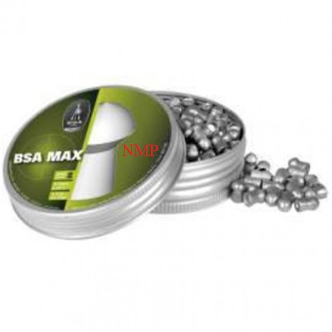 BSA Max Heavy Weight Pointed Pellets available in .22 Tin of 200 x 5 tins