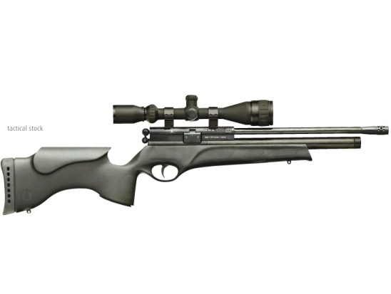 BSA Scorpion SE Multi Shot Tactical ( Black Stock ) Pre charged PCP Full Power Air Rifle .22 calibre air gun pellet