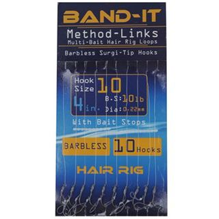 Band It Hair Rig Method Links Size 10 ( BAN128 )