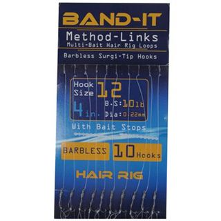 Band It Hair Rig Method Links Size 12 ( BAN129 )