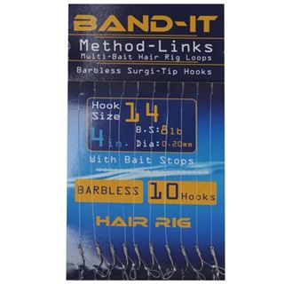 Band It Hair Rig Method Links Size 14 ( BAN130 )