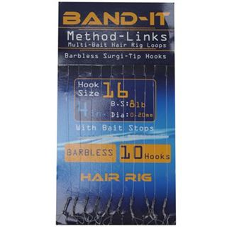 Band It Hair Rig Method Links Size 16 ( BAN131 )