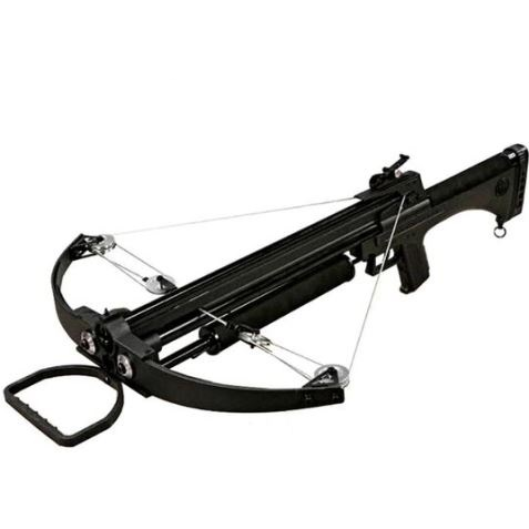 99lb Draw ARMEX Black Hawk Compound Crossbow SHOOTS 8mm Tri-Vane BOLTS AND 8mm STEEL BALL BEARINGS