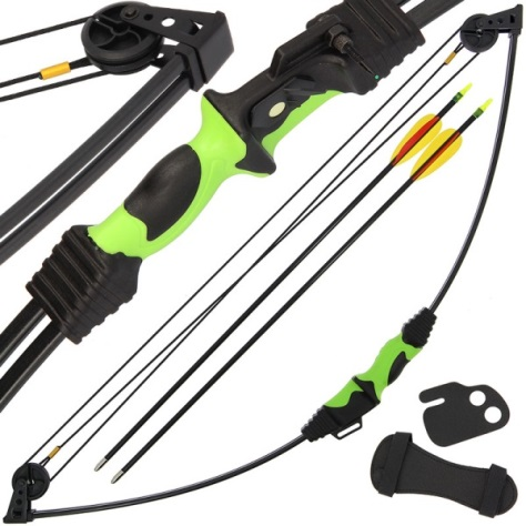12lb Draw Master Archer, Archery Compound Bow Set (CB015)