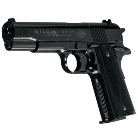 Colt Government 1911 A1 Black 12g Co2 Air Pistol .177 calibre pellet 8 shot Umarex