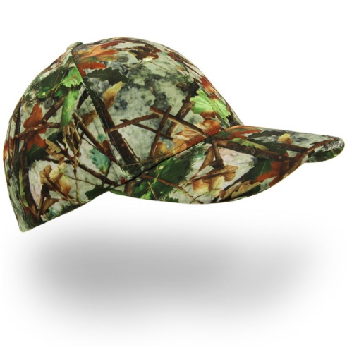 Camouflage Cap With Led Lights