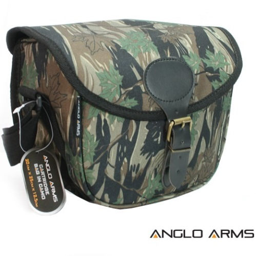 Cartridge Bag in Camouflage 20cm x 23cm x 10cm (014 C)
