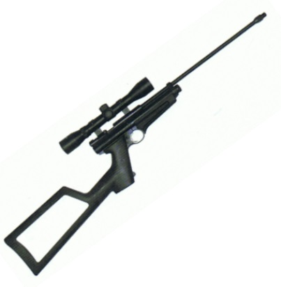 "Crosman 2250XL Ratcatcher 12g co2 Powered Air Rifle .22 Calibre with 4 x 32 scope & 1/2"" UNF thread fitted"