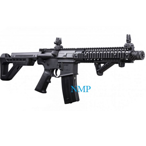 Crosman DPMS SBR M4 Airgun .177, 4.5mm BB CO2 Air Rifle