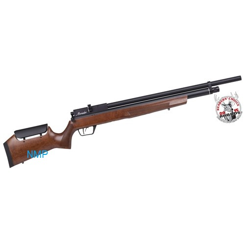 CROSMAN BENJAMIN MARAUDER PCP Pre Charged Air Rifle, 10 Shot Ambi-Dextrous Wooden Stock 11.5 ft, lbs .22 Calibre
