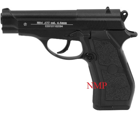 Cybergun M84 Metal 12g co2 Air Pistol 4.5mm BB ( 20 shot BB )