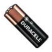 DURACELL ALKALINE 12V LRV08 (MN21) BATTERIES 1 PACK OF 1