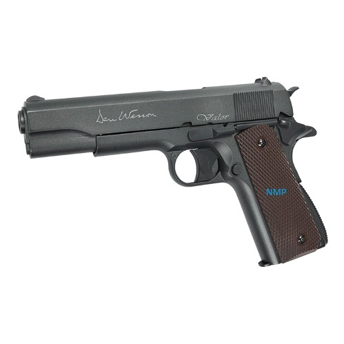 ASG Dan Wesson Valor 1911 12g co2 pistol .177 Calibre Pellet 2 x 6 Shot Magazines, Non Blow Back and Full Metal
