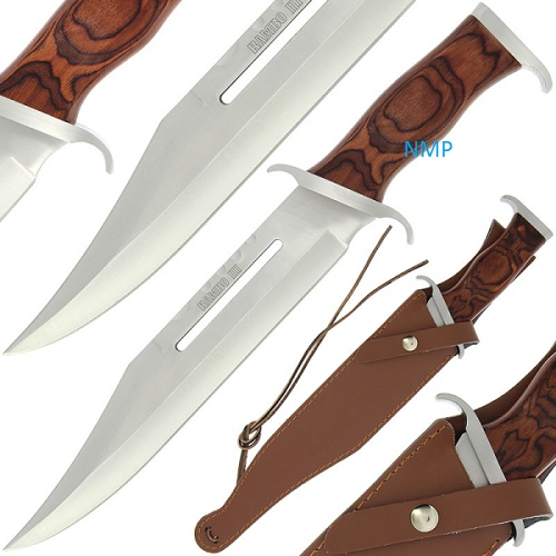 Hunting / Survival / Fixed Blade Knives - A Deluxe Rambo 3 ...