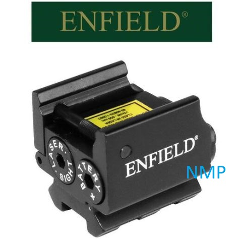 Enfield Pulsar laser sight compact for any weapon that has a weaver rail