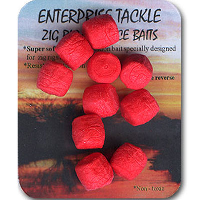 Enterprise Tackle (ARTIFICIAL / IMITATION BAITS:)  ZIG RIG/SURFACE BAITS ( COLOUR RED )