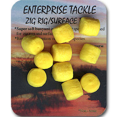 Enterprise Tackle (ARTIFICIAL / IMITATION BAITS:)  ZIG RIG/SURFACE BAITS ( COLOUR YELLOW )
